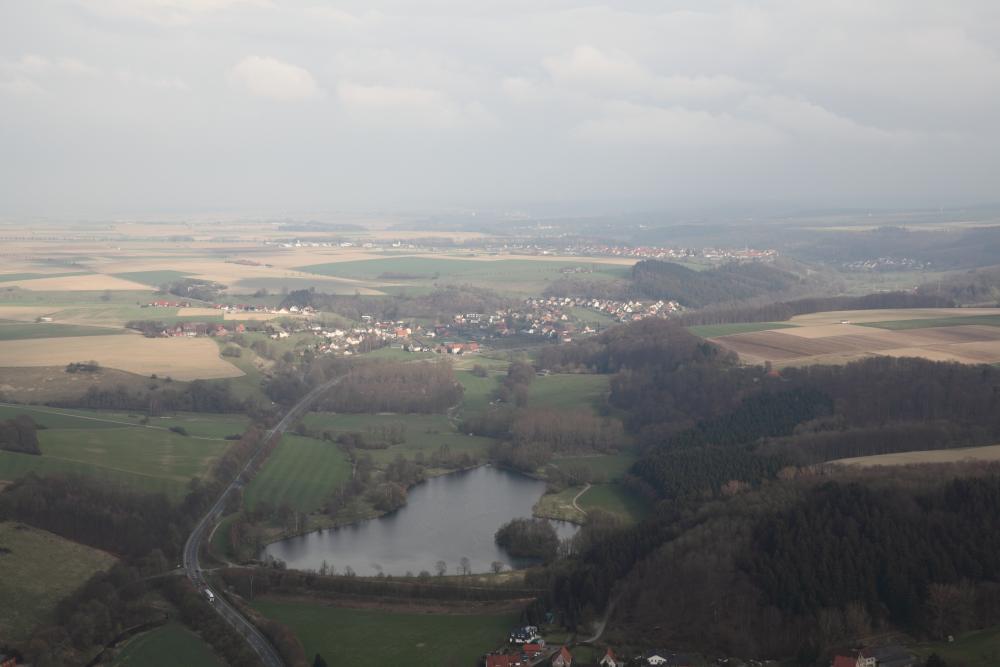 Luftaufnahme Keddinghäuser See
