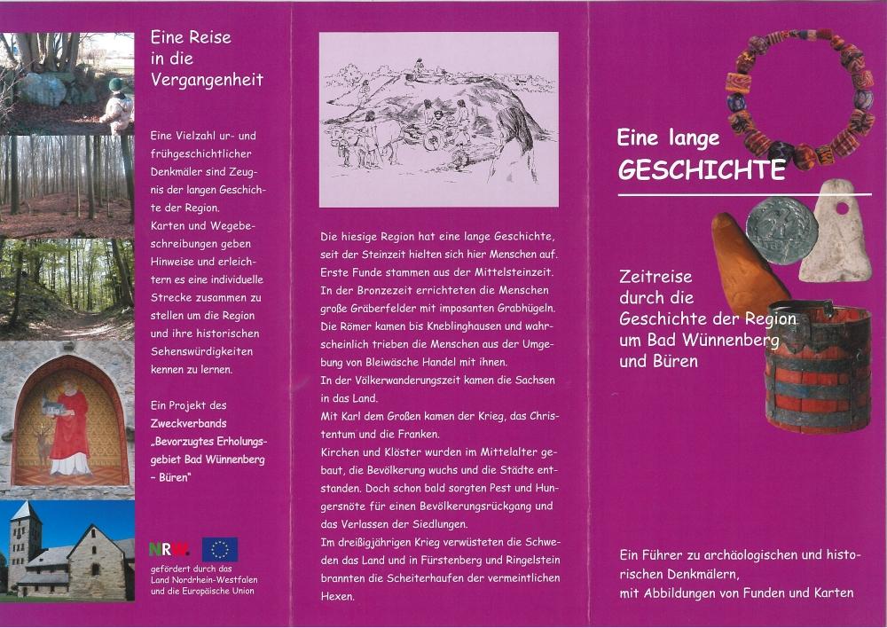 Flyer Zeitreise Seite 1